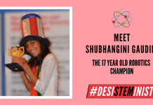 Meet Shubhanshi Gaudani: The Robotics Champion| #DesiSTEMinist