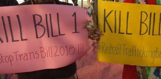 Why The Trans Bill And The Anti-Trafficking Bill of 2018 Reek Of Transmisogyny