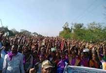 Rural Women In Karnataka March To Bengaluru Calling For Alcohol Prohibition