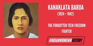 Kanaklata Barua: The Forgotten Teen Freedom Fighter | #IndianWomenInHistory