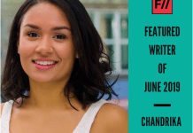 Meet Chandrika Manjunath – FII's Featured Writer Of June 2019