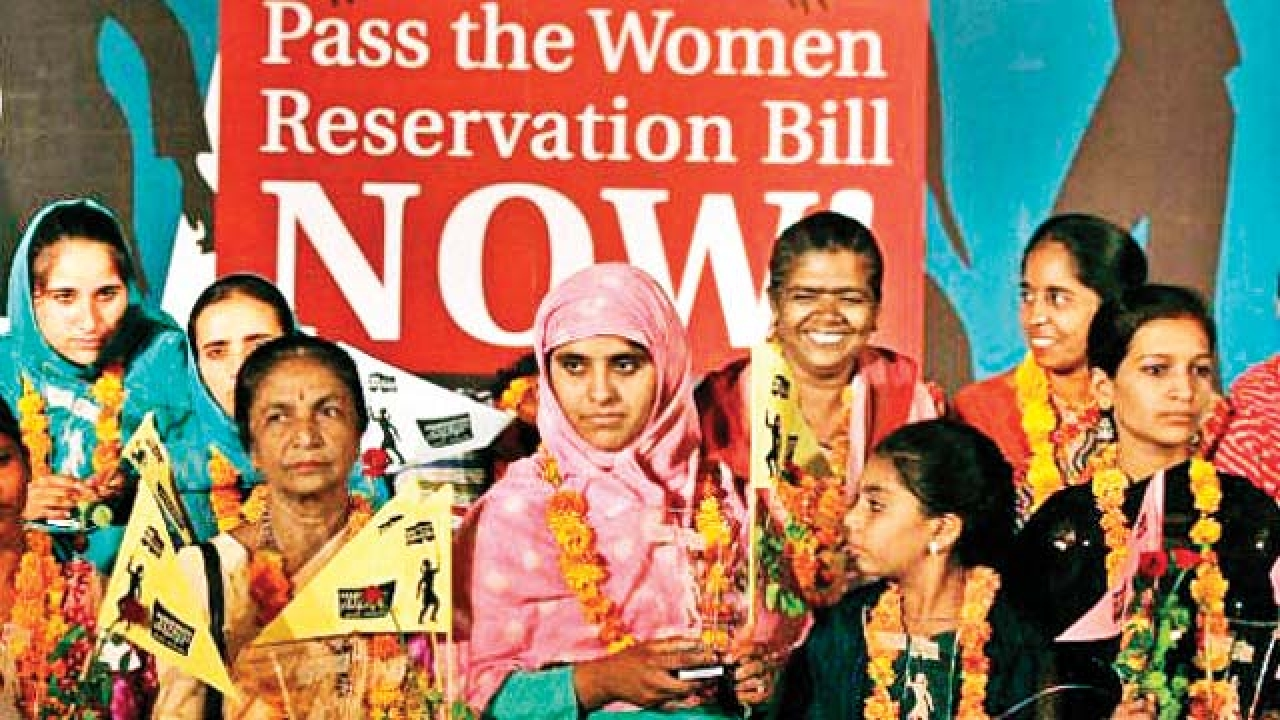 Why The Women's Reservation Bill Is The Need Of The Hour