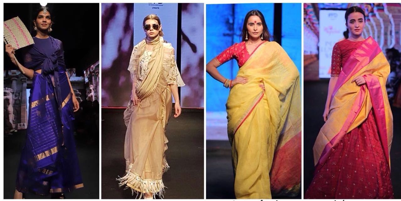 Sari: Turbulent Past, Trendy Present?