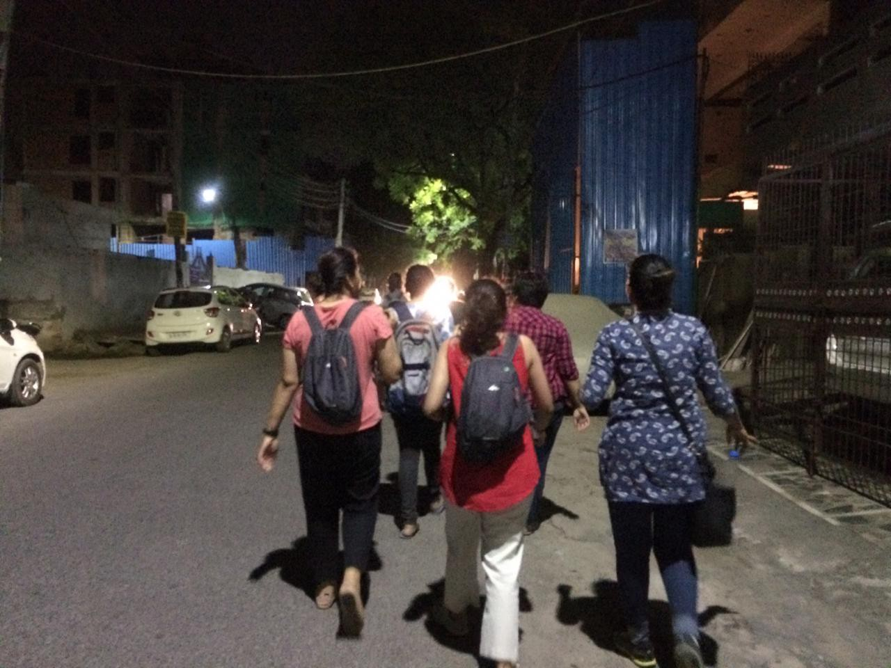 Women Walk At Midnight: Reclaiming Spaces And