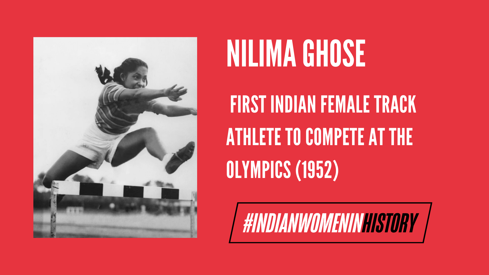 Nilima Ghose: First Indian Female Track Athlete To Compete At The Olympics | #IndianWomenInHistory