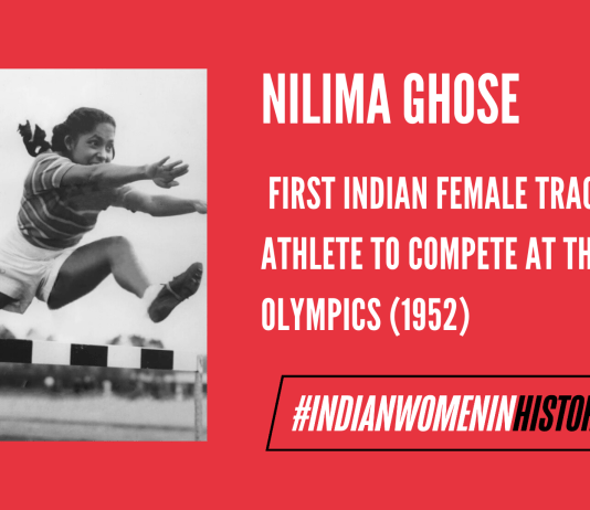 Nilima Ghose: First Indian Female Track Athlete To Compete At The Olympics   #IndianWomenInHistory