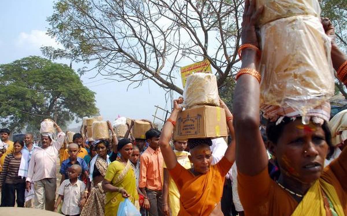 Sammakka Sarakka Jatara: A Popular Tribal Carnival In Telangana