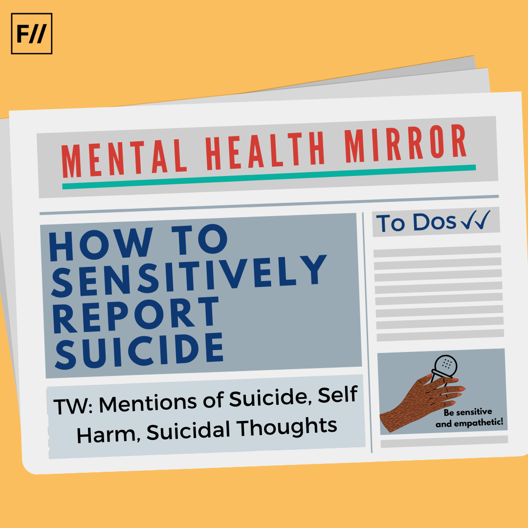 Infographic: How To Sensitively Report Suicide