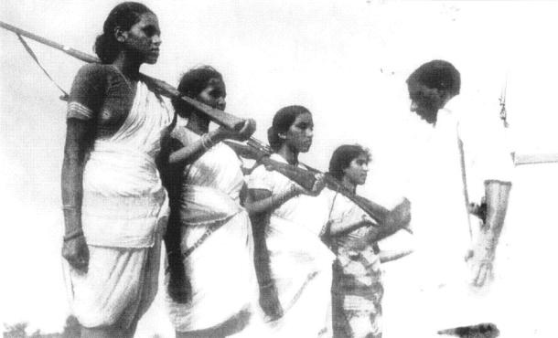 Telangana Peoples' Struggle, Women revolutionaries, Labour movements