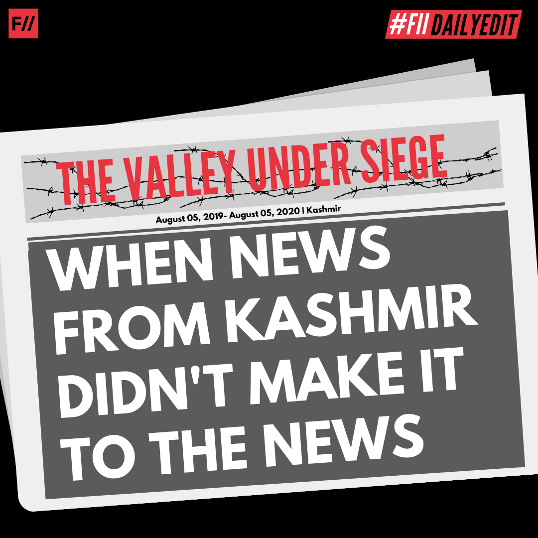 When News From Kashmir Didn't Make It To The News