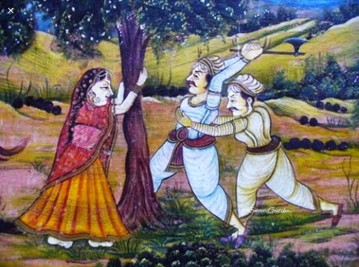 When Amrita Devi And 362 Bishnois Sacrificed Their Lives For The Khejri Tree