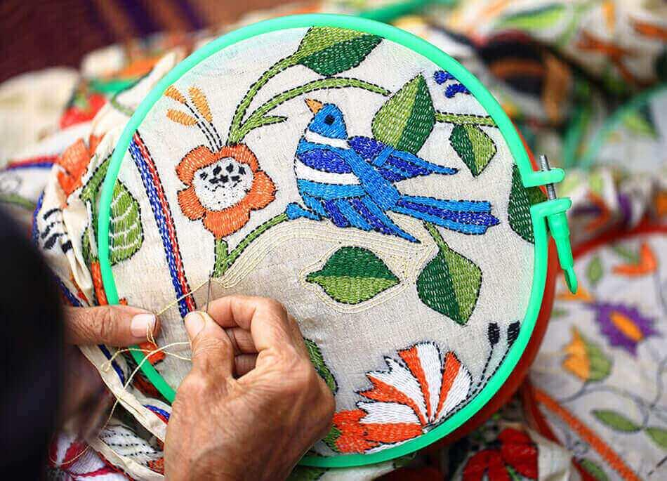 Kantha: Women Embroidering Stories Of Bengal