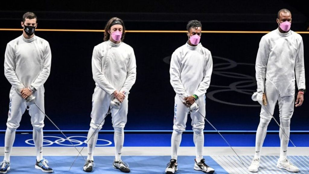 Women In Sports: Why The US Men's Fencing Team Wore Pink Masks At The Olympics