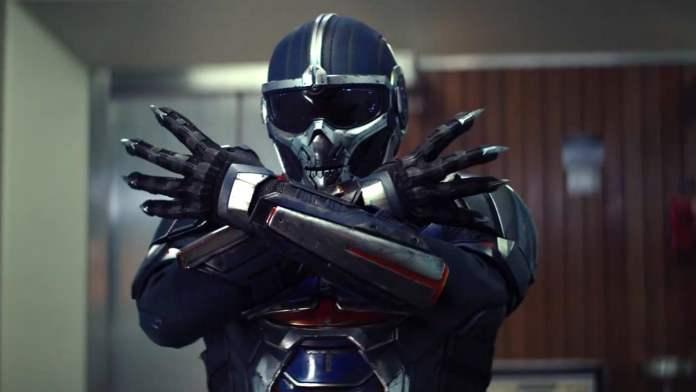 Antonia as Taskmaster in Black Widow