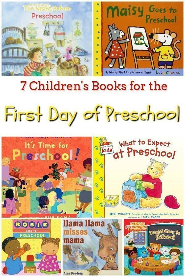7 Children's Books for the First Day of Preschool