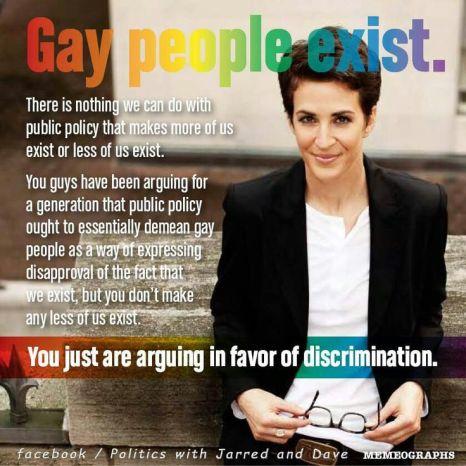 Gay People Exist