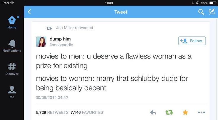 Movies to Men VS Women