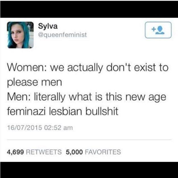 New Age Feminazi Lesbian Bullshit
