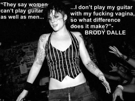 Women Can't Play Guitar