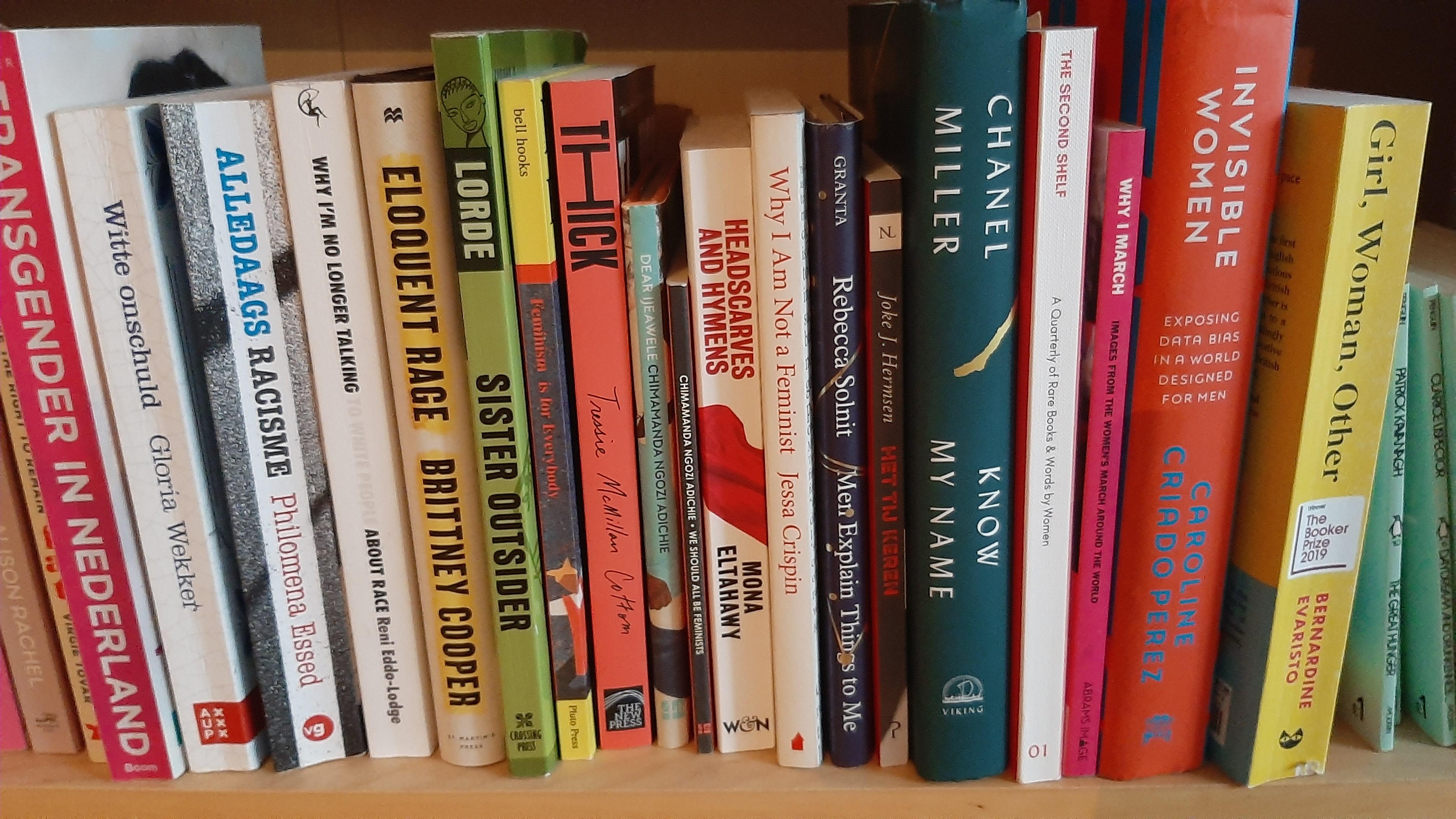 Letterlijk een boekenplank