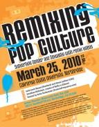 remixing-pop-culture flyer