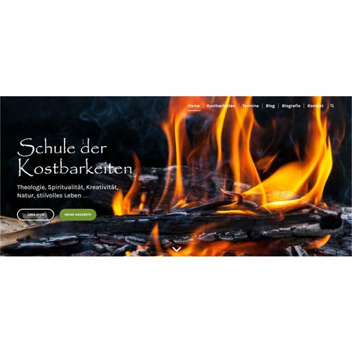 Screenshot - www.kostbarleben.jetzt