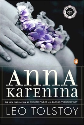 Book cover: Anna Karenina by Leo Tolstoy