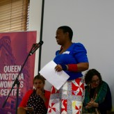 Maxine Beneba Clarke in the Spoken Word session