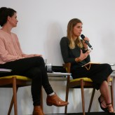 Louise Taylor and Evelyn Araluen in Writing Politics, Writing Feminism