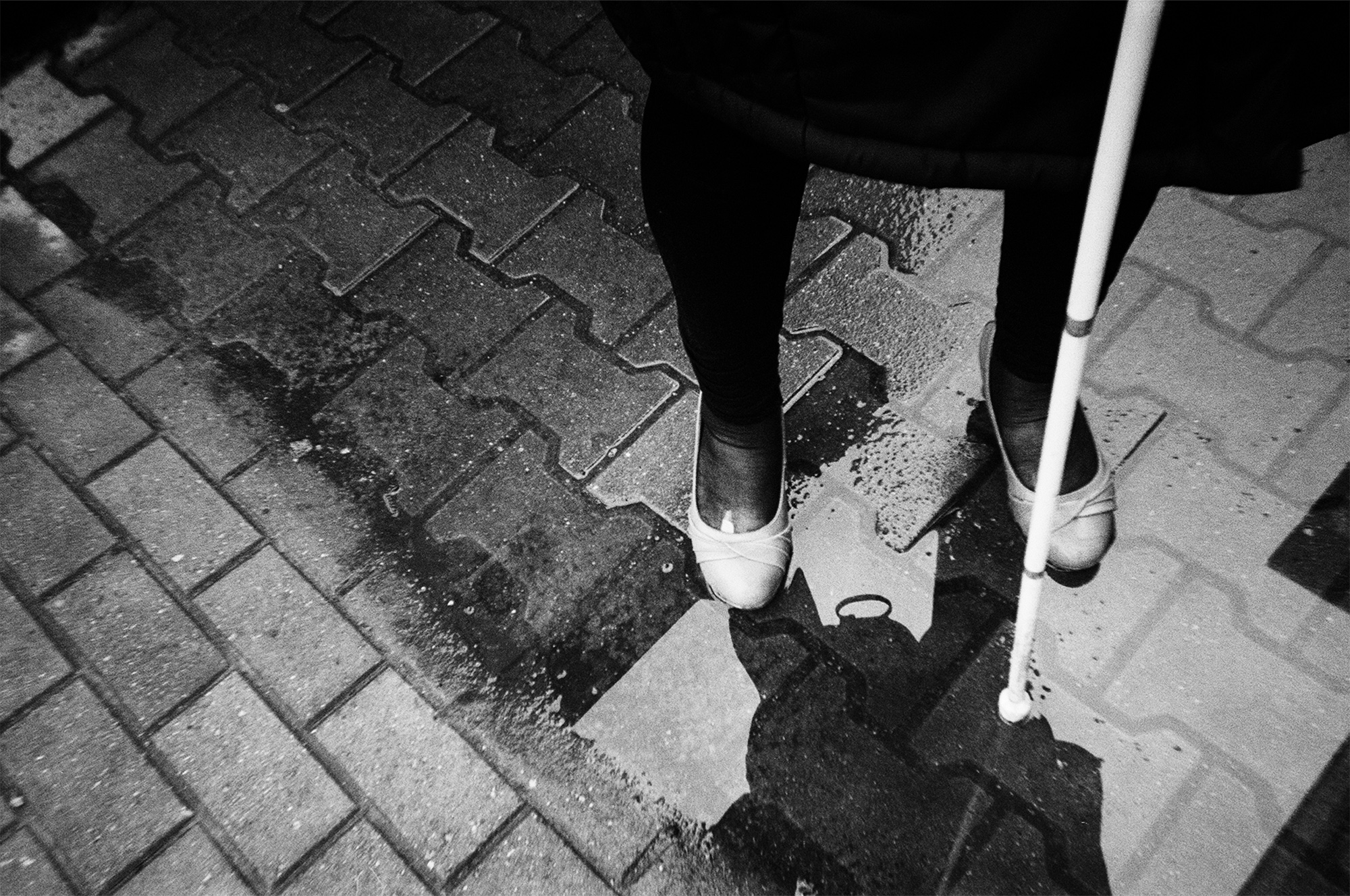 woman eyesight disability femlens