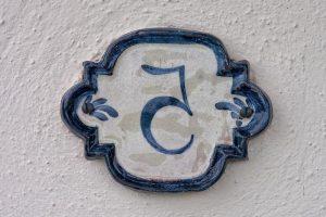 5 years ceramic plate