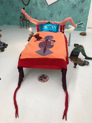 Our Bed (Double Trouble) Lindsey Mendick and Paloma Proudfoot. 2018.