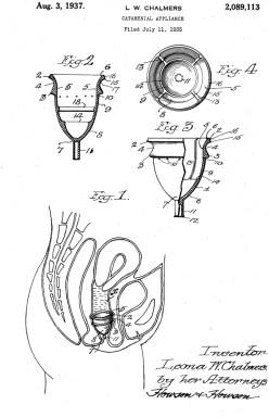 Schéma de la première Moon Cup