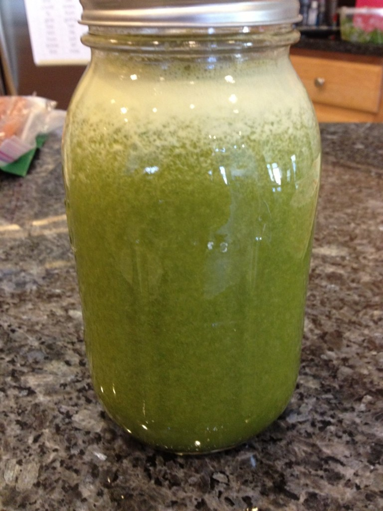 Green Thunder Juice Recipe inspired by The Grind House in Baltimore, MD.  #juicerecipe  #juicing #juice #freshpressedjuice