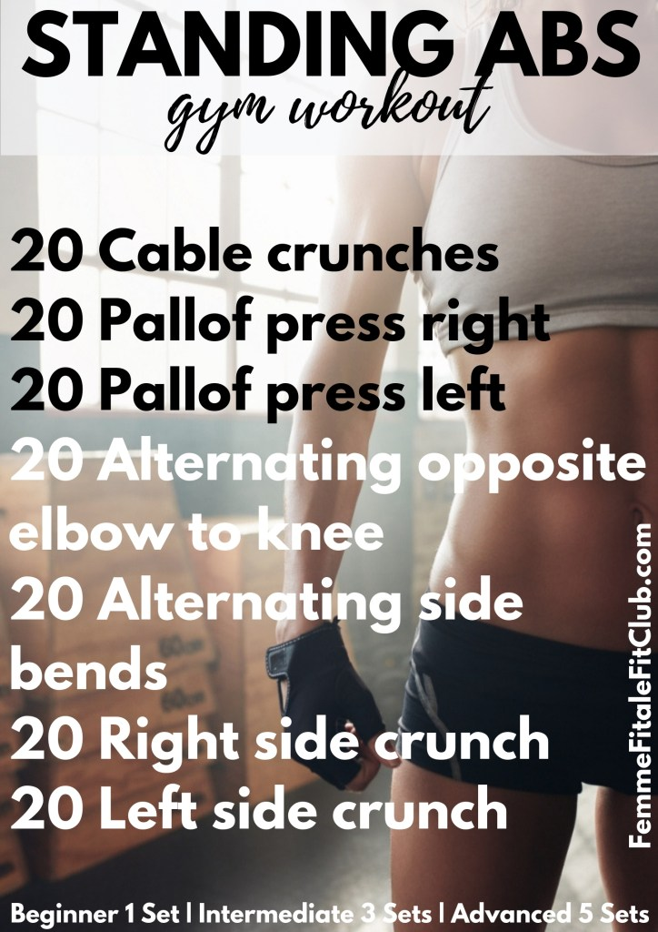 Standing Abs And Core gym workout #gymworkout#workouts #coreworkout #absworkout #flatabs #flatbelly #flattummy #abs #hardcore #core #fitness #getfit #exercise #snatchedwaist