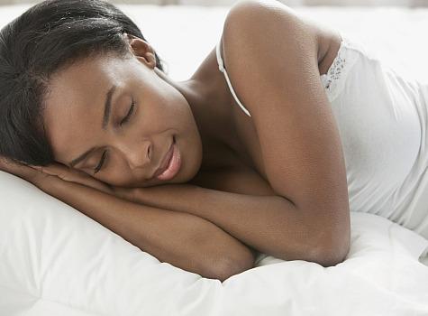 black-woman-sleeping