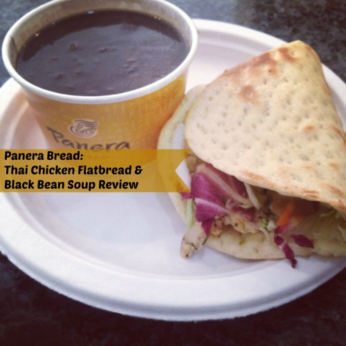 Panera Bread Thai Chicken Flat Bread