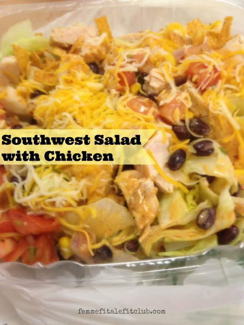 Southwest Salad with Chicken