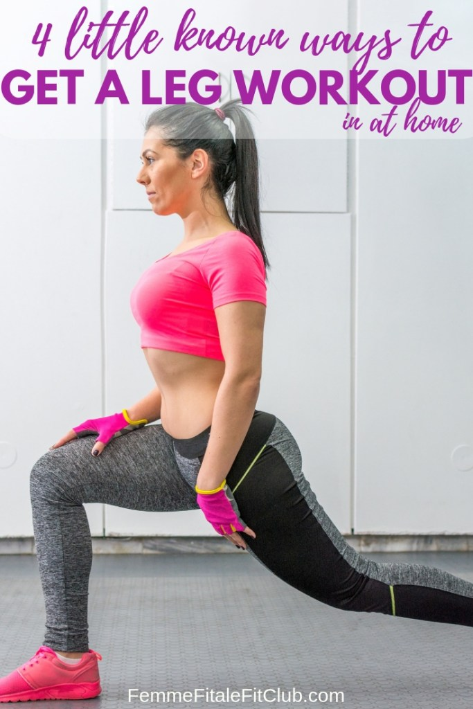 4 little known ways to get a leg workout at home #legworkout #legday #health #athomeworkouts #homeworkouts #glutes #thighs #hamstrings #fitness #workout #exercise #fitnesstips #weightlosstips (1)