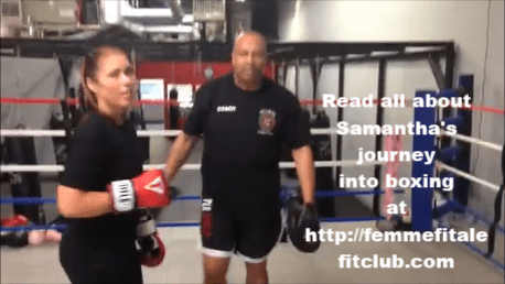 Sam Mellerson female boxer
