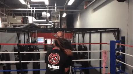 Sam Mellerson in No Limits Gym