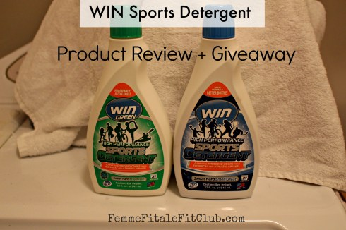 WIN Sports Detergent Product Review and Giveaway #SweatHardSmellGreat #WINDetergent #sweatpink