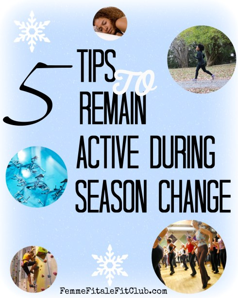 5 Tips to Remain Active During Season Change  #target #c9 #seasonchange #exercise #workout