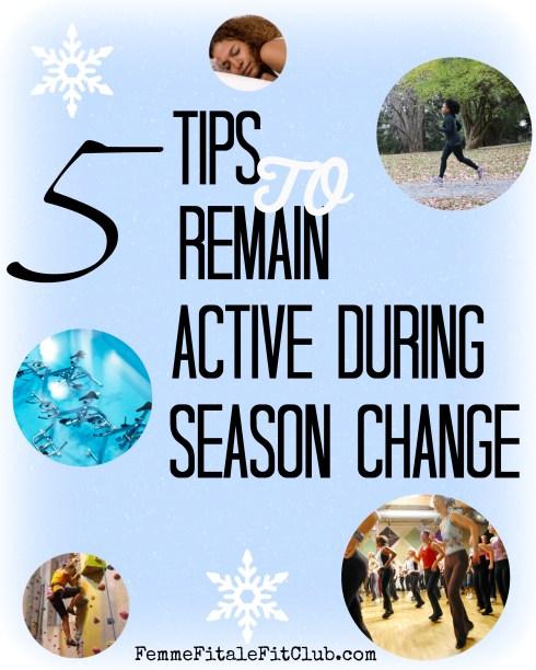 5 Tips to Remain Active During Season Change  #target #c9 #seasonchange #exercise #workout