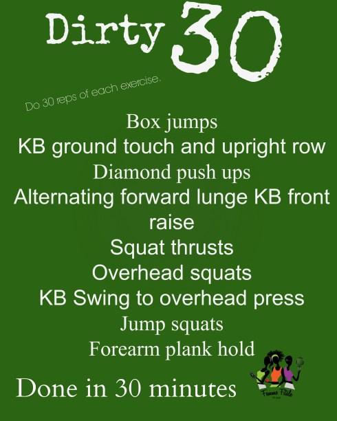 Dirty 30 workout #exercise #workout #workoutroutine