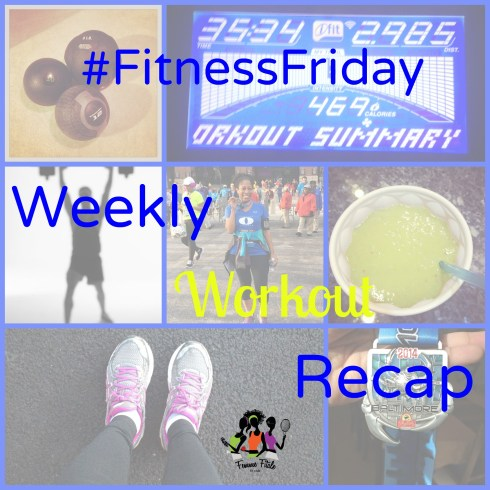 #FitnessFriday Weekly Workout Recap
