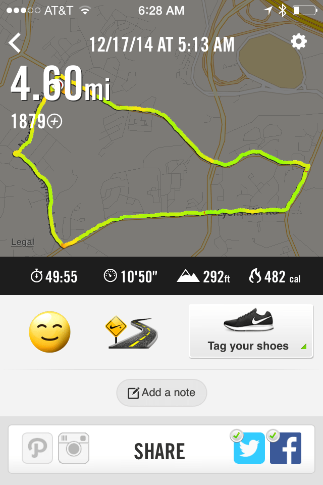 Running with #Adidas #miCoach