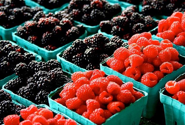 Fresh Fruit in Market #freshfruit #freshproduce
