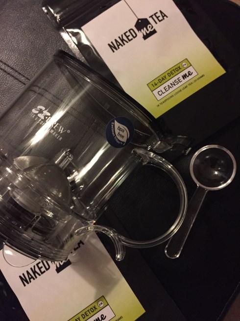 Naked Me Tea tea pot and detox tea #teatox #nakedmetea #detoxtea