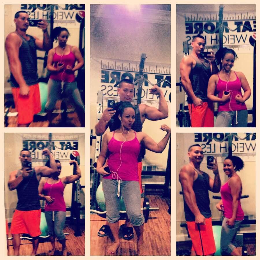 Kiki of EM2WL #weighless #eatmore #liftweights